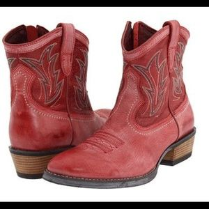 "Ariat ""Billie"" Western ankle boots"